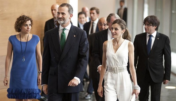 El Rey reitera a Puigdemont su compromiso de