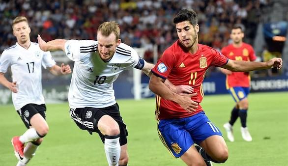 Europeo Sub-21. Alemania ata y golpea al talento español para ser campeón