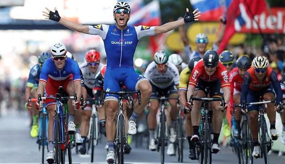 Tour de Francia. Kittel descorcha, con su triunfo, las llegadas al sprint