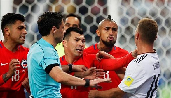Copa Confederaciones. La astuta cantera de Alemania se la juega a Chile y triunfa | 0-1