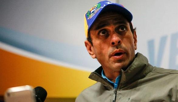 Capriles exige libertad total para el opositor Leopoldo López