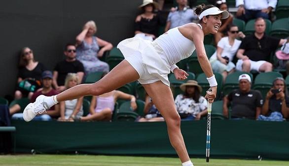 Wimbledon. Ferrer pasa a tercera ronda sin jugar y Djokovic y Muguruza lucen