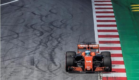 GP de Austria. Fernando Alonso queda fuera en la primera curva y Bottas gana