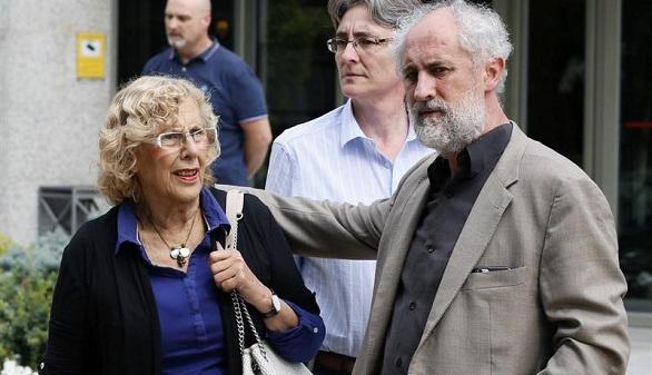 Carmena recula: desplegará una pancarta en recuerdo de Blanco