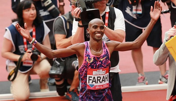 Diamond League. Thompson y Farah asustan en Londres antes de los Mundiales