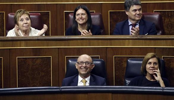Espaldarazo al Gobierno: aprobado el techo de gasto para 2018