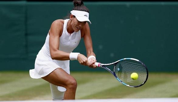 Wimbledon. Muguruza arrasa a Rybarikova y es finalista   6-1 y 6-1