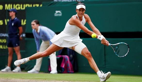 Garbiñe arrolla a Venus Williams y entra en la historia