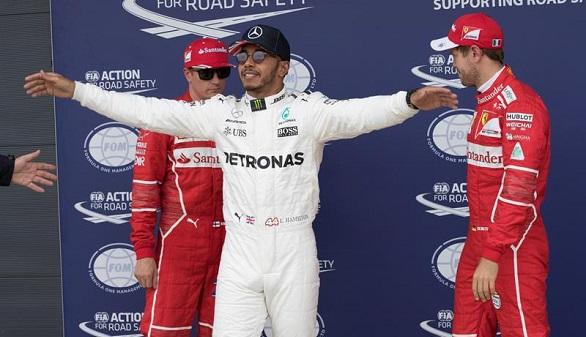GP de Gran Bretaña. Hamilton logra la pole y Alonso saldrá último