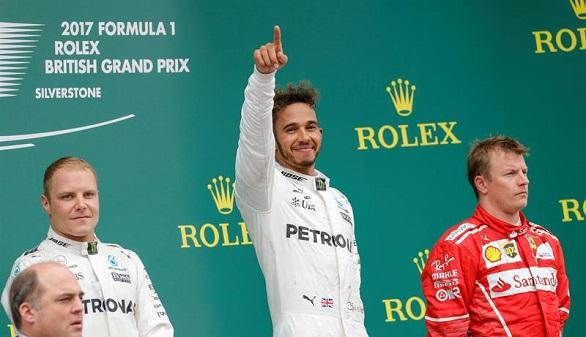 GP de Gran Bretaña. Hamilton hace historia y queda a un punto del Mundial