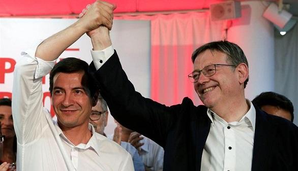 Ximo Puig gana en las primarias de Valencia y golpea al