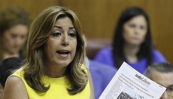 Revés para Susana Díaz: el TC suspende su jornada de 35 horas