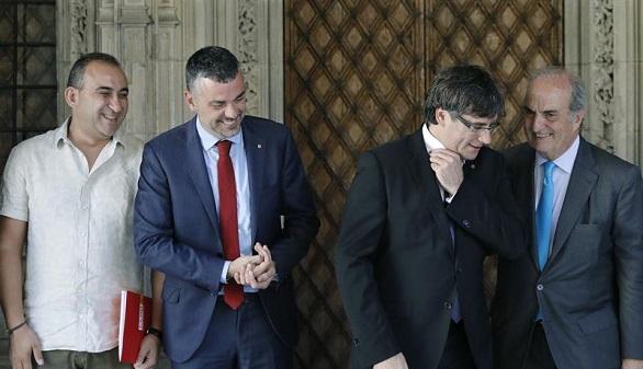 El Ejecutivo secesionista responde: el gasto de 6.150 euros no pertenece al 1-O