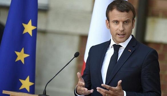 El presidente galo, Emmanuel Macron, en una rueda de prensa el 25 de agosto de 2017.
