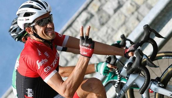 La Vuelta. Contador, triunfal en el Angliru, deja el ciclismo a lo grande