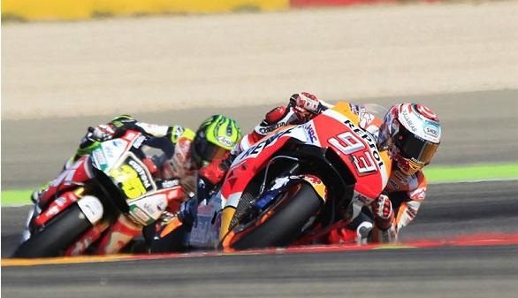 GP de Aragón. Márquez domina y se escapa en el Mundial