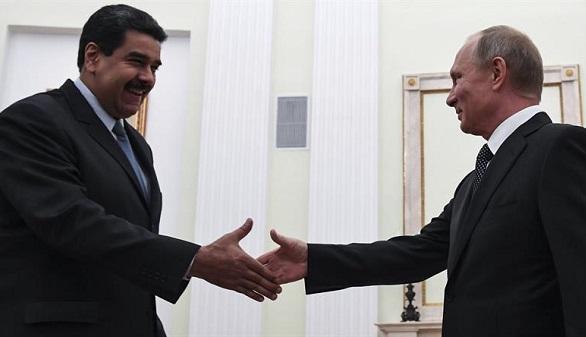 Putin se brinda a Maduro para alcanzar el acuerdo petrolero
