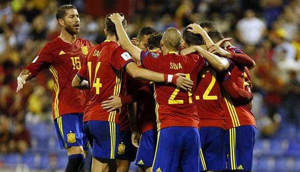 España, clasificada para el Mundial de Rusia al imponerse a Albania