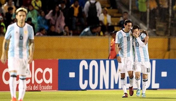 Rusia 2018. Messi y Di María clasifican a Argentina y Chile queda fuera