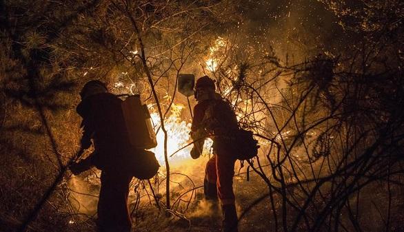 Cuatro muertos en los incendios que asolan Galicia y Asturias