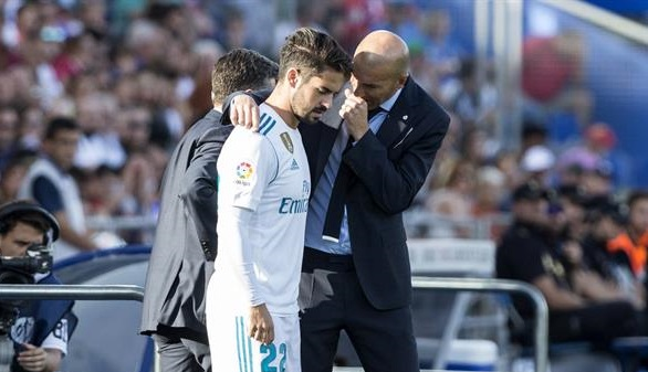 Isco salva al Real Madrid de Zidane, esta vez en Getafe | 1-2