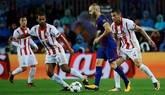 Un Barcelona relajado golea a Olympiakos sin sudar   3-1