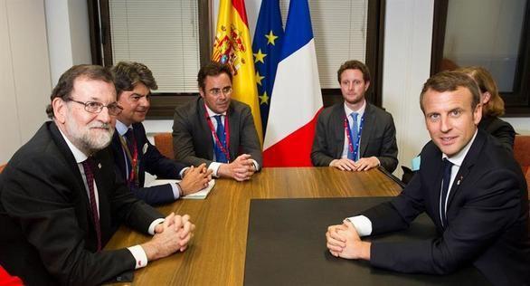 Los líderes europeos muestran su apoyo al Gobierno español
