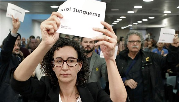 Junqueras encabezará la lista de ERC para las elecciones del 21-D
