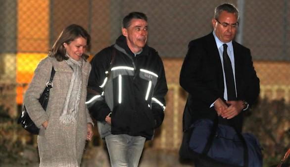 Ignacio González sale de prisión tras pagar la fianza de 400.000 euros
