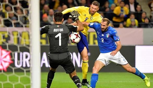 Rusia 2018. Suecia agudiza la crisis de Italia, que deberá remontar para llegar al Mundial | 1-0
