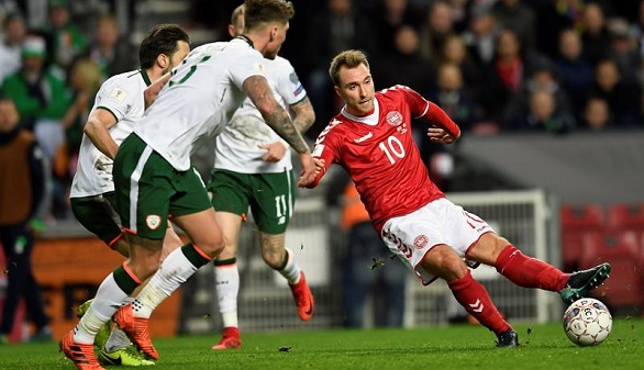 Rusia 2018. Irlanda gana un empate en Dinamarca para jugársela en Dublín | 0-0