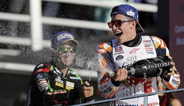 GP de Valencia. Marc Márquez conquista su cuarto Mundial de MotoGP