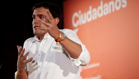 Rivera alerta sobre el PSC de Iceta y un hipotético