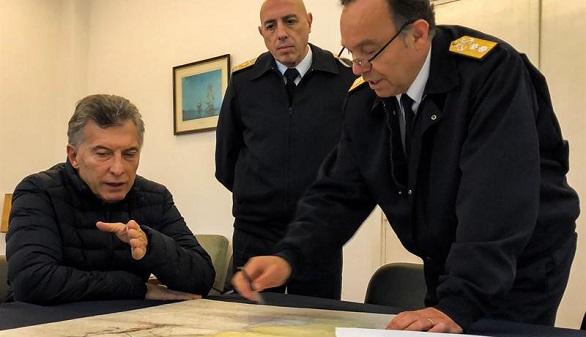 Se confirma la explosión en la zona del submarino y la tensión entre la Armada y Macri