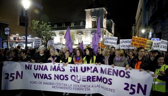 Un clamor masivo recorre 50 ciudades de España contra la violencia machista