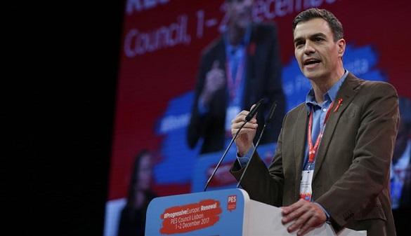 Pedro Sánchez cree que 2018 será un año clave para la