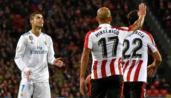 El Real Madrid no sale de su nudo en San Mamés y desaprovecha el guiño del Barça | 0-0