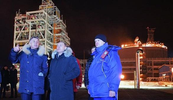 Putin abre en el Ártico una de las plantas de licuado de gas más grandes, con participación de Gas Natural
