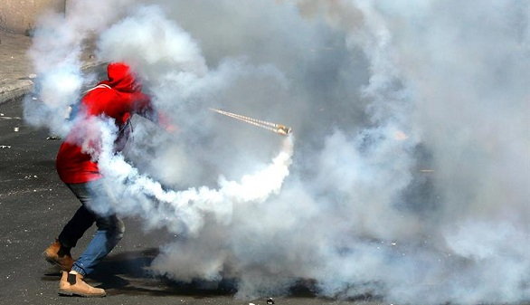 Cuatro muertos y en torno a 200 heridos en los violentos enfrentamientos entre israelíes y palestinos