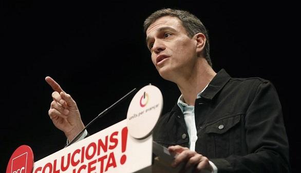 Sánchez ataca al PP y tilda de
