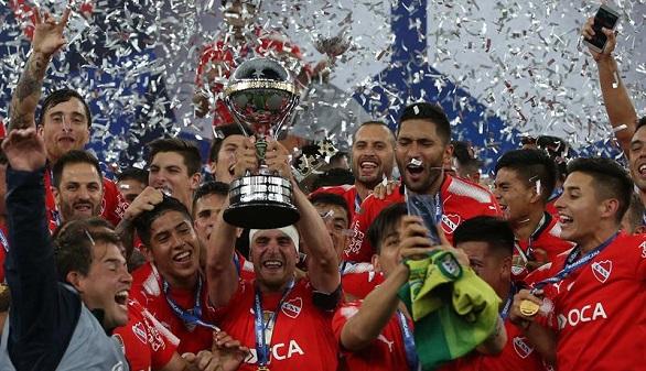 Copa Sudamericana. Independiente conquista Maracaná para proclamarse campeón | 1-1