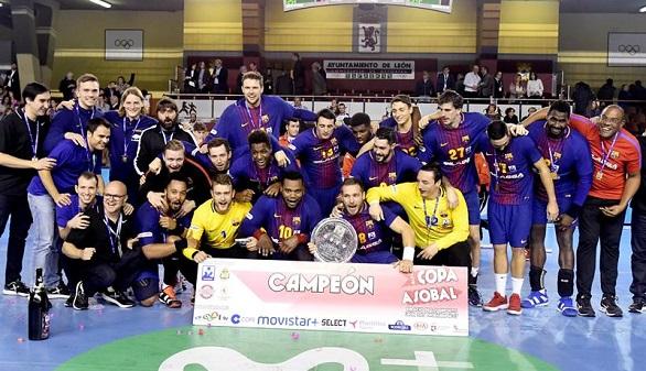 Balonmano. El Barcelona gana ante Ademar la Copa ASOBAL | 22-28