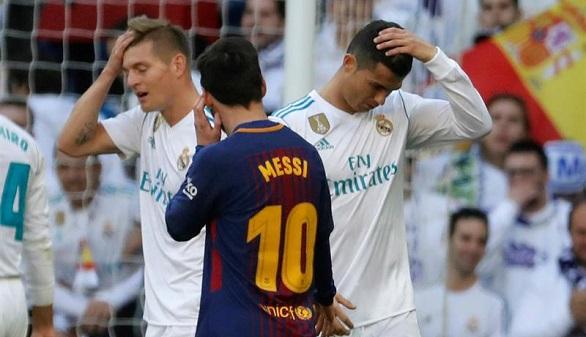 El Barcelona aguanta al Madrid y le gana en astucia para casi sentenciar la Liga   0-3