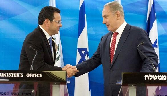 Guatemala se alinea con EEUU y reconoce a Jerusalén como capital de Israel