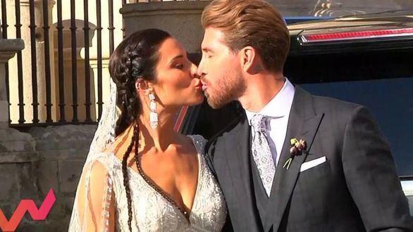 Sábado. Viva la vida y el Deluxe arrasan con la boda de Pilar Rubio y Sergio Ramos