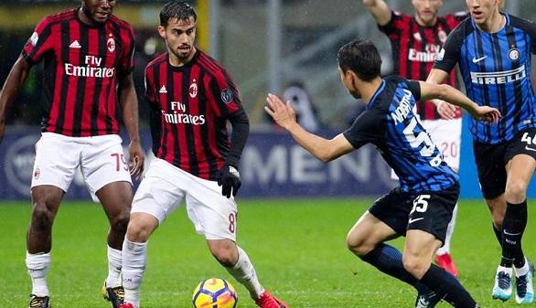 Suso guía al Milan para batitr al Inter en la prórroga y llegar a las semis de la Copa | 1-0
