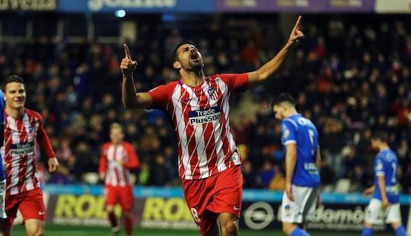 Un Atlético ortodoxo sentencia al Lleida y acoge a Costa y Vitolo | 0-4