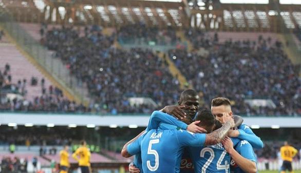 Ligas europeas. El Nápoles sigue soñando, el Arsenal enferma y el PSG se relame