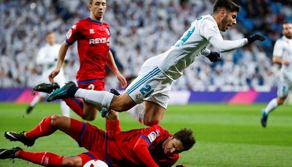 El Madrid empata ante el Numancia | 2-2