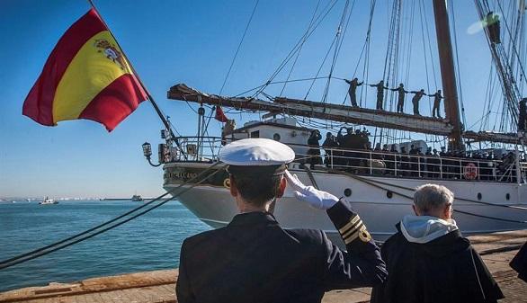El buque Juan Sebastián de Elcano comienza su 90 crucero de instrucción